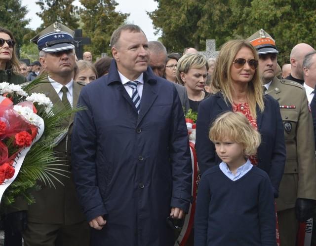 Uroczystość 80. rocznicy bitwy pod Łętownicą i Andrzejewem