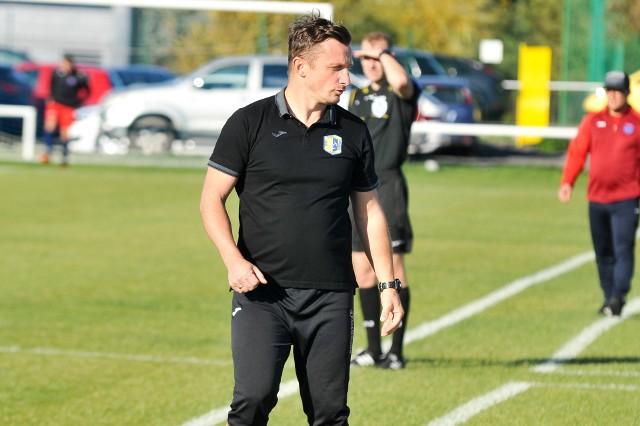 Dla Marcina Domagały było to pierwsze zwycięstwo w roli trenera Stali.