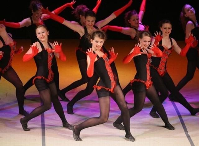 Małe Kielczanki wygrały w kategorii inne formy tańca do 15 lat.