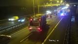 Wypadek na A4 w Krakowie. Gigantyczny korek na obwodnicy Krakowa [ZDJĘCIA]