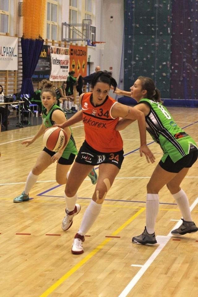 Doświadczona Leona Jankowska zdobyła 21 punktów