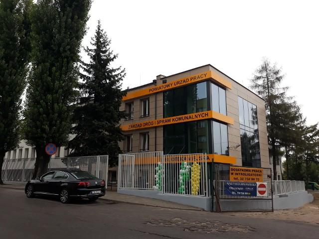 Budynek PUP w Świętochłowicach po remoncie