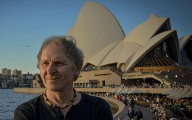 Artur Dutkiewicz, zaraz po powrocie z Australii i Nowej Zelandii odwiedził Pińczów.