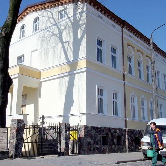 Nowy dom zborowy Świadków Jehowy przy ul. Lutosławskiego w Słupsku.