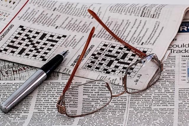 Jednym z ćwiczeń dla mózgu wzmacniających pamięć i koncentrację jest rozwiązywanie krzyżówek