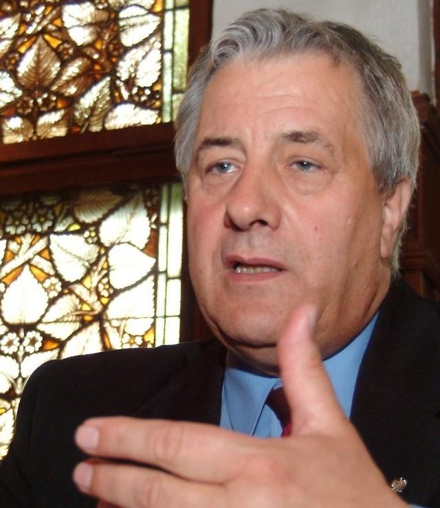 Prezedent Słupska Maciej Kobyliński