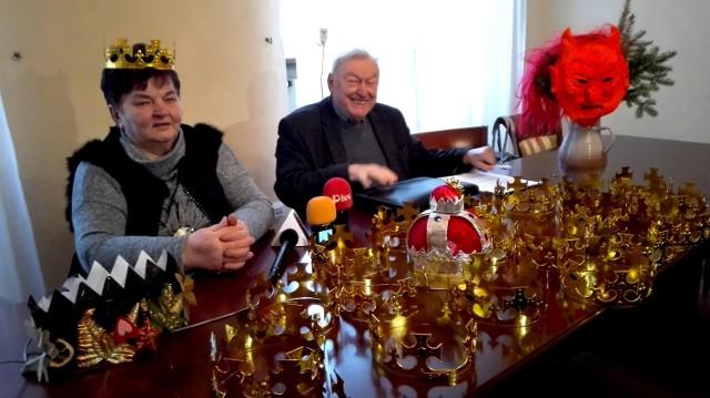 - Przygotowania idą pełną parą. Powstają korony, w zeszłym roku rozdano ich 10 tysięcy - mówi Eleonora Szymkowiak.