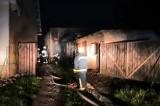 Tomice: Nocny pożar stolarni - z ogniem walczyło siedem zastępów straży pożarnej [ZDJĘCIA]