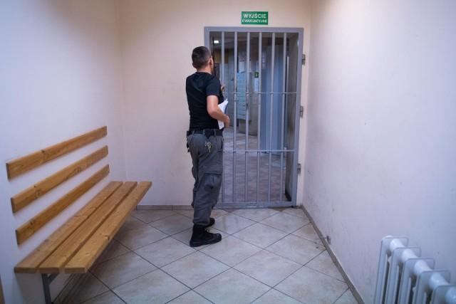 Areszt śledczy w Poznaniu również wprowadził specjalne środki ostrożności w związku z epidemią koronawirusa.