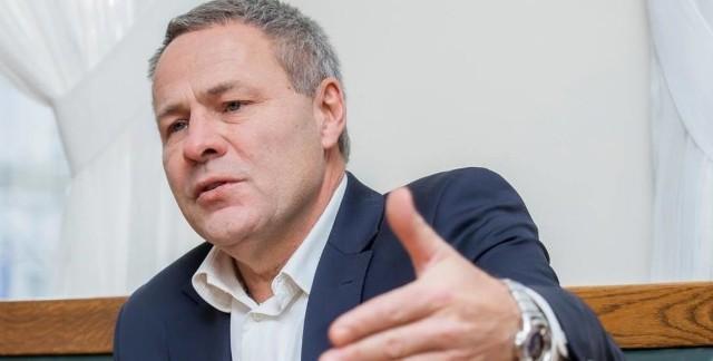 Prezydent Bydgoszczy Rafał Bruski.