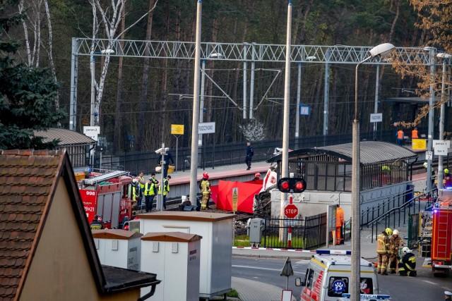Do wypadku w Puszczykowie doszło na początku kwietnia
