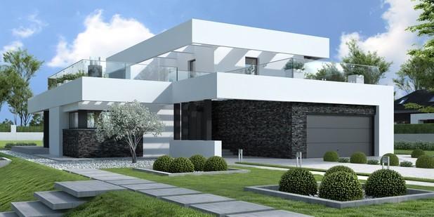Minimalistyczna forma domu ma wiele rozmaitych korzyści