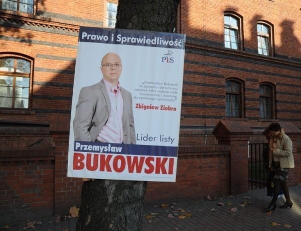 W Opolu Pis Musi ściągać Plakaty Wyborcze Nowa Trybuna