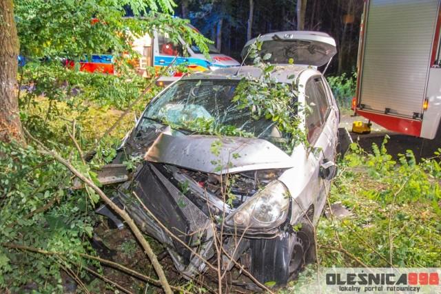Tragiczny w skutkach wypadek pod Dobroszycami