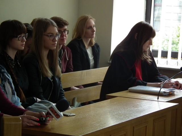 Obserwatorami byli uczniowie Zespołu Szkół Muzycznych