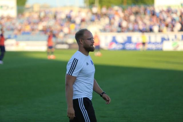 Łukasz Bereta przez dwa lata był trenerem Ruchu Chorzów