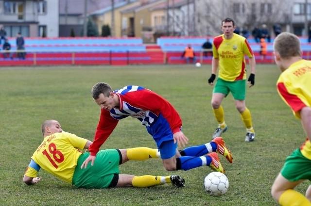 Drużyny z Moniek i Tykocina wcześniej grały mecz 5 kwietnia