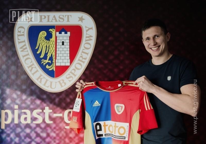 Maciej Jankowski już oficjalnie jest zawodnikiem Piasta Gliwice.