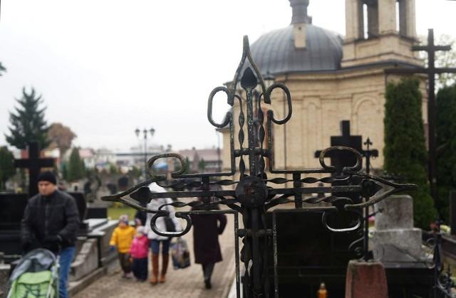 Cmentarz prawosławny przy ulicy Wysockiego