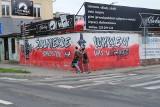 Mural Żołnierzy Wyklętych w Białymstoku znów zniszczony. Młodzież Wszechpolska obwinia anarchistów