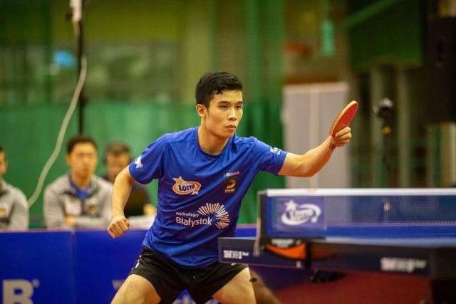 Li Yongyin w meczu z Olimpią-Unią odniósł kolejne dwie wygrane