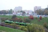 Awaria tramwaju linii 18 sparaliżowała trasę PST. Uruchomiono komunikację zastępczą