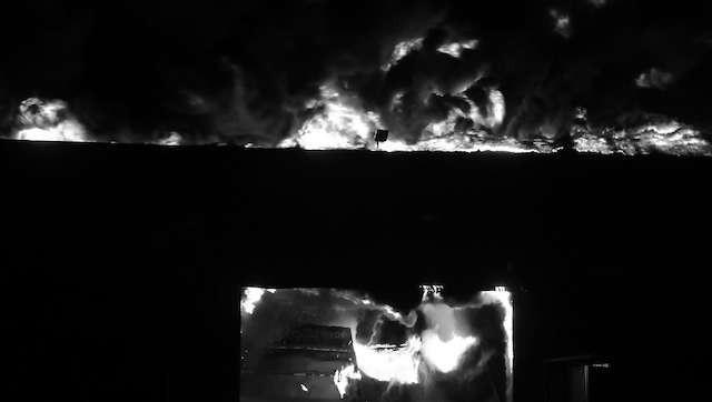 Akcja straży trwała aż do godz. 13, w sumie pożar trwał więc 22 godziny