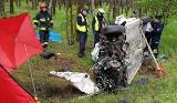 Droga krajowa 11. Śmiertelny wypadek w Niedźwiedziu - nie żyje jedna osoba