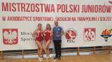 Akrobatyka. Natalia Rakałowicz i Weronika Lesik z GOK Gwiazdy Dobrzeń Wielki nie miały sobie równych w mistrzostwach Polski juniorów