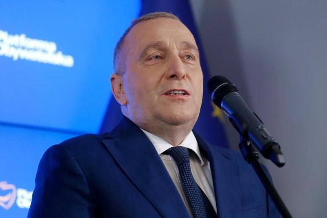Grzegorz Schetyna o koalicji z Porozumieniem: Nie widzę żadnych możliwości, żeby zrealizować pomysł rządu technicznego