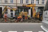Ruszyła przebudowa chodnika i parkingów przy ulicy Mickiewicza