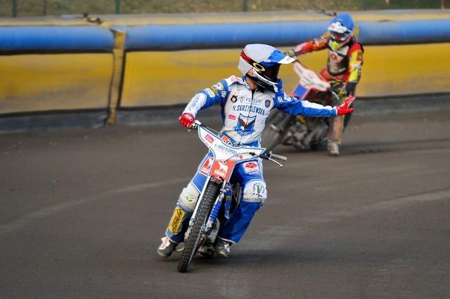 Oskar Bober (na zdjęciu w barwach Orła Łódź) w tym roku występuje w Motorze Lublin jako gość.