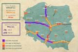 Autostrady w Polsce: Ile mają kilometrów? [MAPY, WIZUALIZACJA] Odcinki gotowe, w budowie i w planach. Które autostrady są płatne?