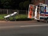Tragiczny wypadek w Knurowie: Młody motocyklista roztrzaskał się na latarni. Wcześniej ściął znak. Nie miał kasku