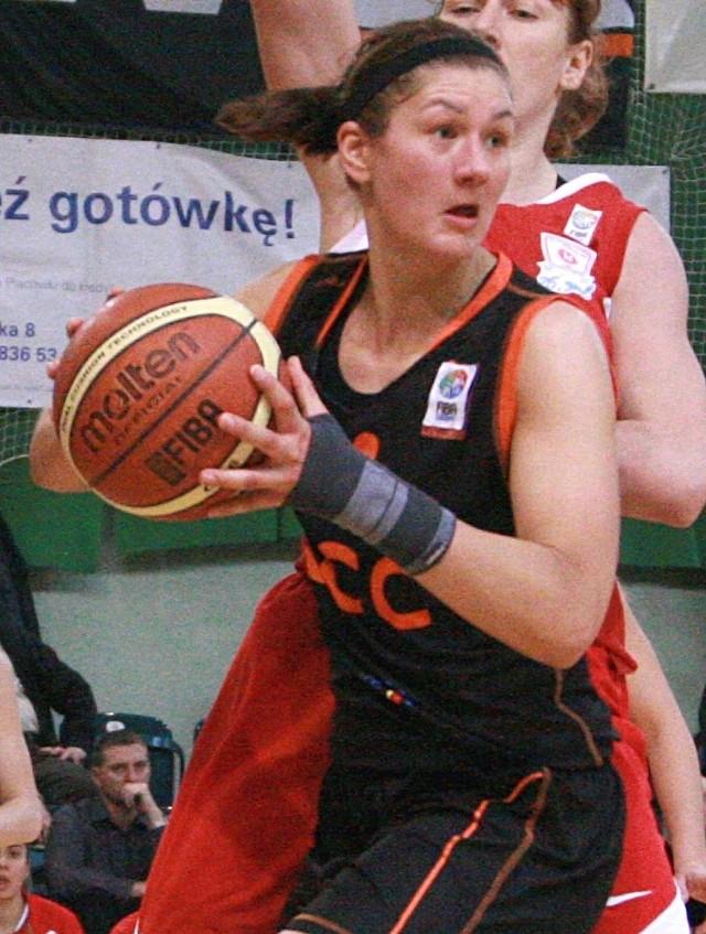 Natalia Trafimawa rzuciła wczoraj 5 punktów, ale jej CCC niestety odpadło z rywalizacji o Puchar Europy.
