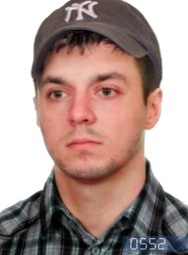 Grzegorz Zgrzebnicki - poszukiwany listem gończym za zabicie 23-letniego sąsiada (ZDJĘCIA)
