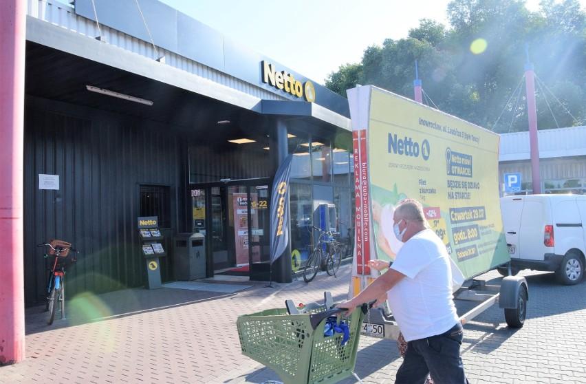 """Nowy supermarket """"Netto"""" przy ul. Laubitza 3. To już trzecia..."""