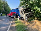 Wypadek na drodze krajowej w Wielkim Głęboczku w powiecie brodnickim. 61-latka trafiła do szpitala