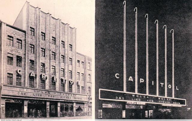 Teatr Capitol w 1938 roku