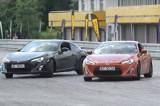 Ponad 20 samochodów Subaru BRZ i Toyota GT86 ściga się na Torze Kielce w Miedzianej Górze (ZDJĘCIA)