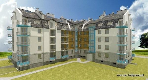 Blok przy ul. FiltrowejNowe mieszkania przy ul. Filtrowej spółdzielnia SIM zacznie budować w czwartym kwartale 2014 roku.