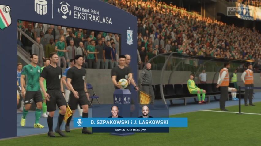Legia Warszawa - Lech Poznań. Klasyk PKO Ekstraklasy w FIFA...