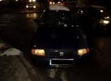 Wypadek w Myszkowie: potrącenie pieszych na przejściu przy ulicy Piłsudskiego. 32-letni kierowca seata cordoba potrącił dwóch mężczyzn
