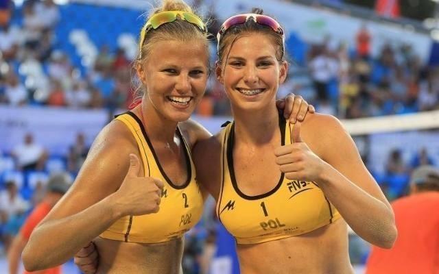 Jagoda Gruszczyńska wraz z Katarzyną Kociołek zdobyła brązowy medal mistrzostw Europy do lat 20 w siatkówce plażowej