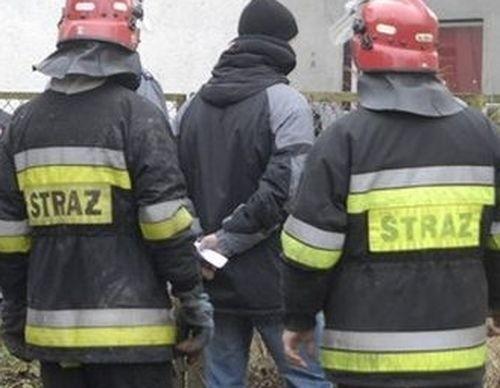 Tragiczny pożar w Wolinie - zmarła jedna osoba.