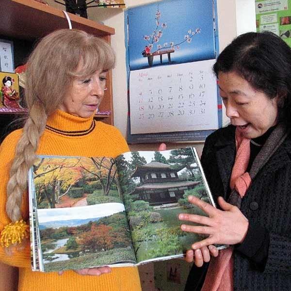 - W ogrodzie będzie promowana tradycyjna kultura japońska. Przemyślanie będą w nim mogli odpocząć i zrelaksować się - snują plany Iga Dżochowska (nz. z lewej) i Atsuko Ogawa.