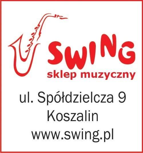 Zwycięzca otrzyma voucher wartości 500 zł do zrealizowania w sklepie muzycznym SWING ul. Spółdzielcza 9, Koszalin.