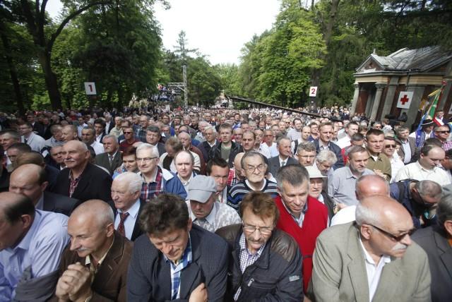 Pielgrzymka mężczyzn i młodzieńców do Piekar 2015