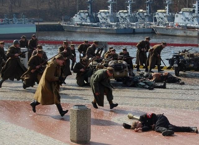 Rekonstrukcja walk o Kolobrzeg z 1945 roku
