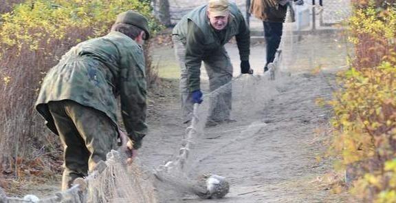 W grudniu ubiegłego roku odbyły się wielkie łowy na króliki, niestety niewiele to dało